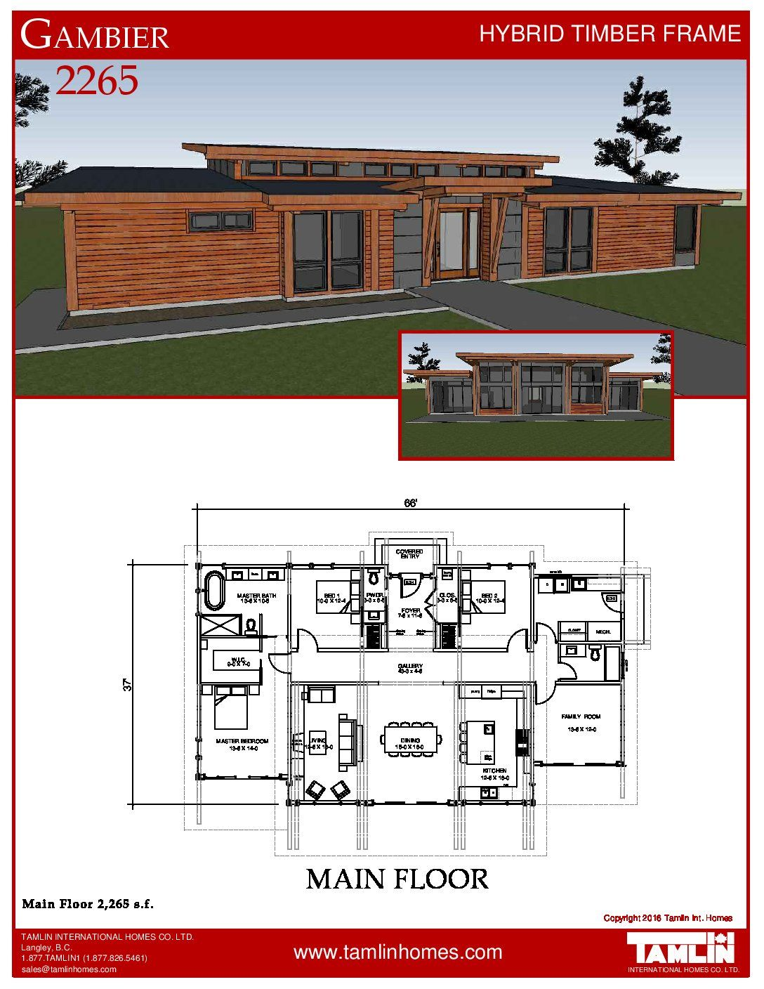 The Gambier Harbour 2 Usa Specials Tamlin International Homes Ltd House Designs Ireland Cottage Plan House Plan Gallery