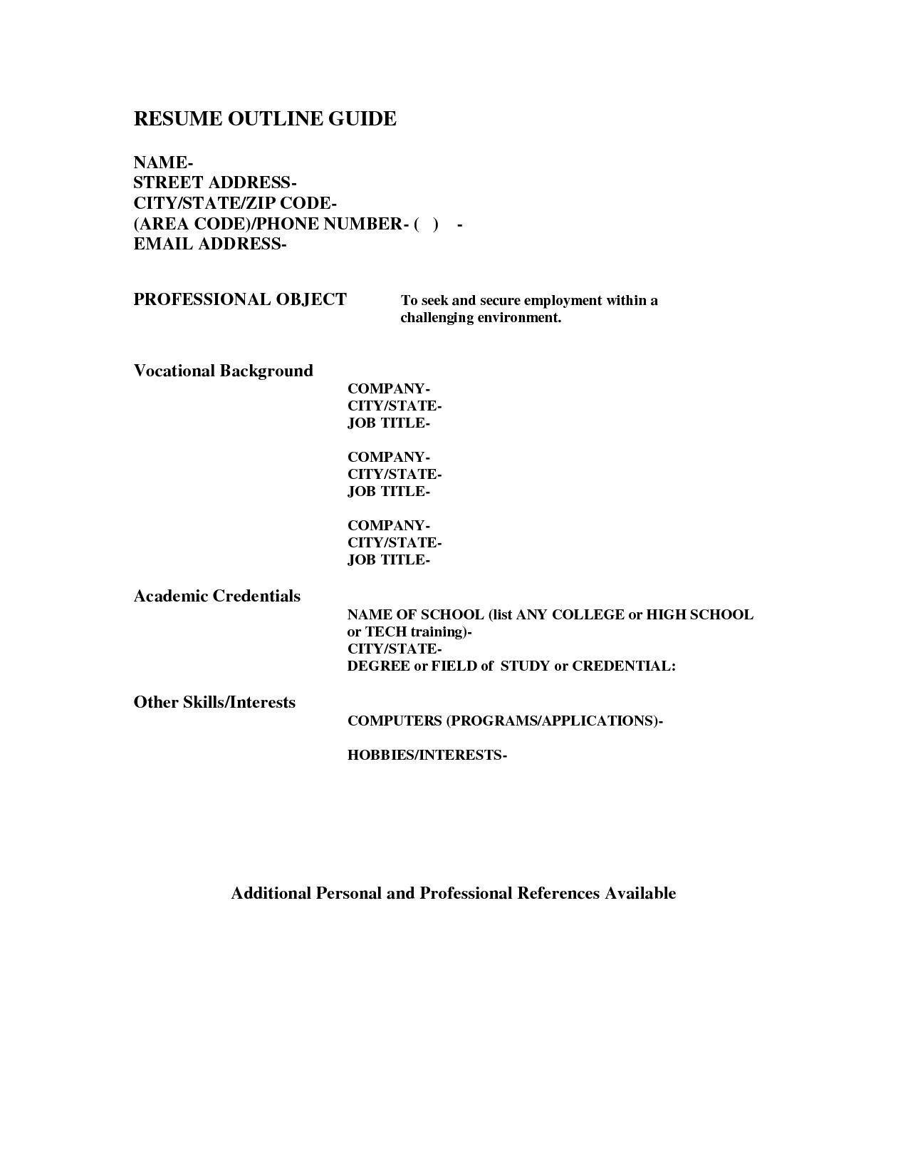free resumes maker online cover letter resume word excellent inspiration ideas outline example basic high school - Resumes Maker