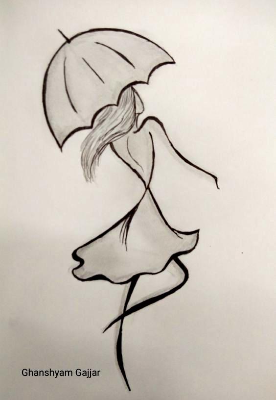 My Ballpen Sketch In 2020 Cool Art Drawings Art Drawings