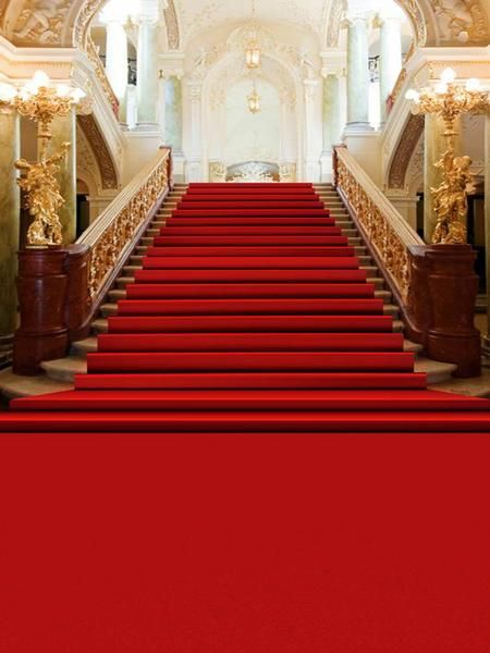 Meego Red Carpet Luxury Palace Staircase Photography