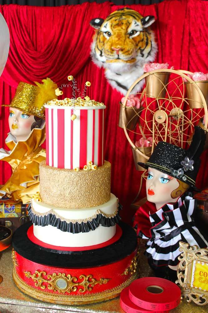 Incredible At A Circus Birthday Party See More Planning Ideas CatchMyParty