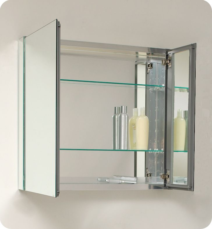 Bathroom Medicine Cabinets with Mirrors 2975 Fresca FMC8090