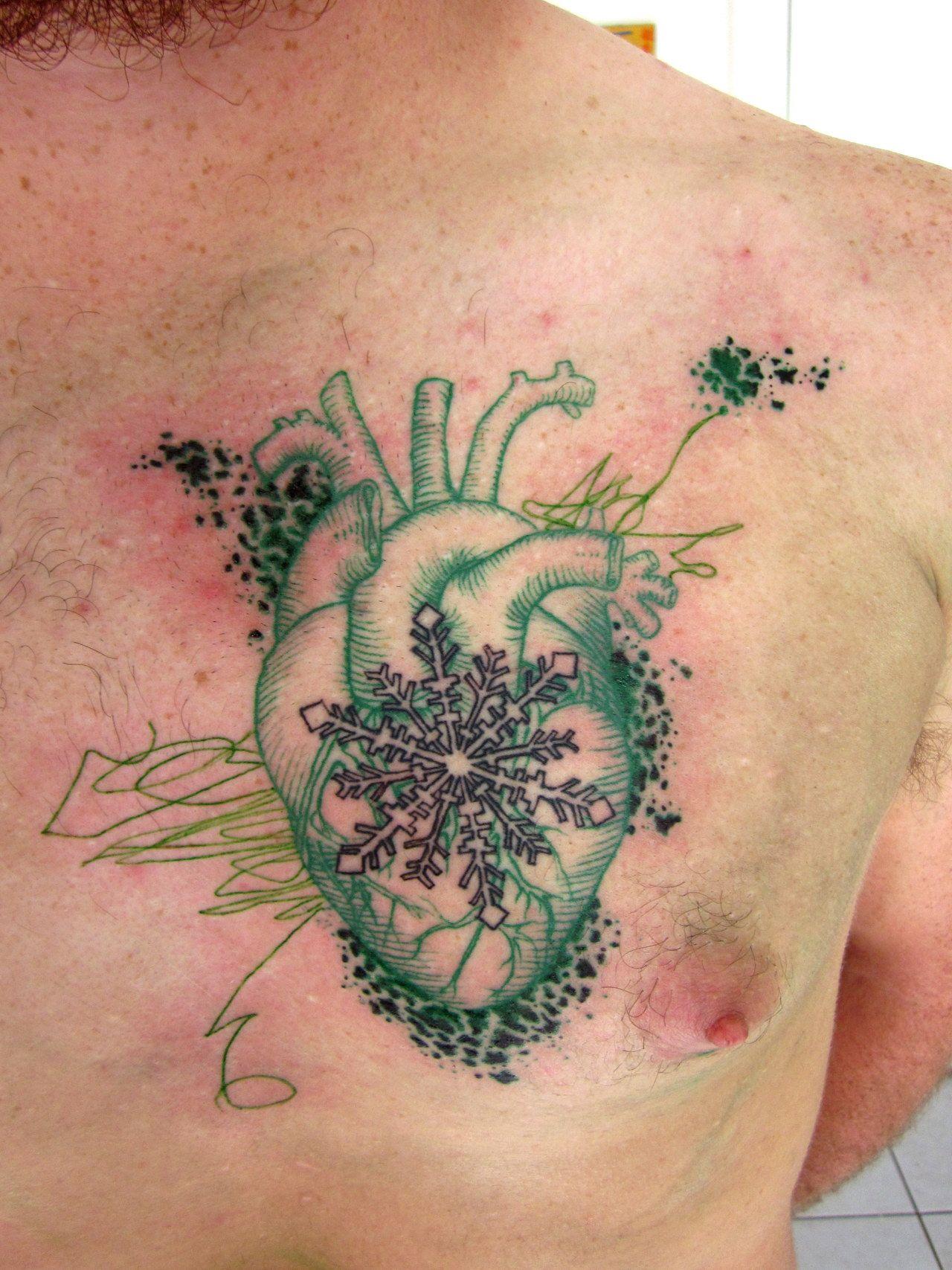 A tatuagem incrível (e barba ruiva <3)