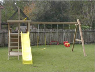Apollo Diy Wood Fort Swingset Plans Autism Board In 2018