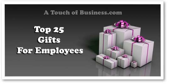 Top 25 Gifts for Employees