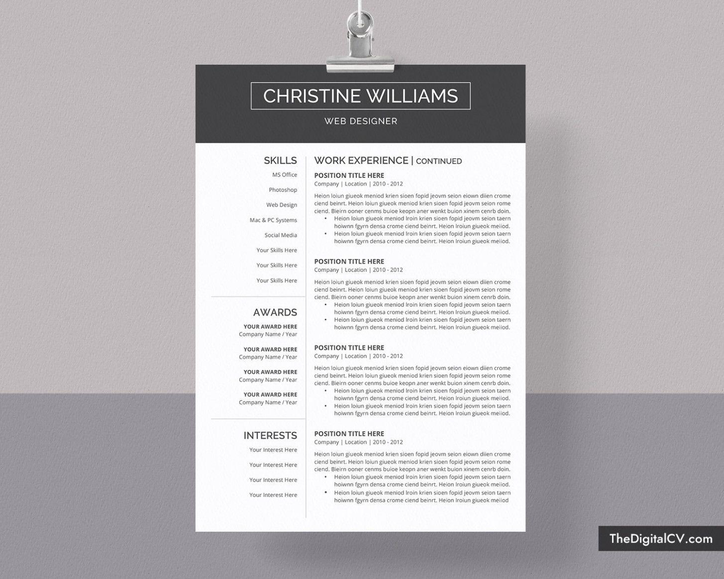 14 Microsoft Fundamental Resume Template 14 Microsoft