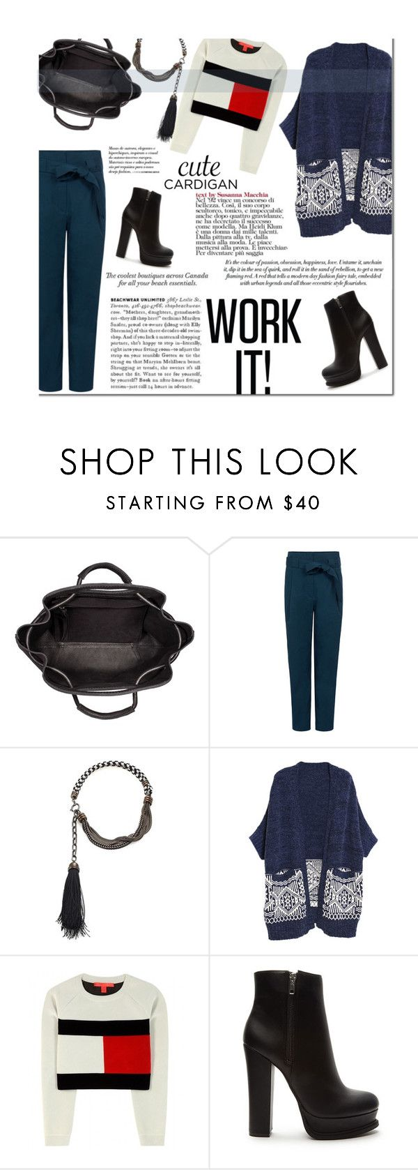 """""""#mycardi"""" by zoey-heart ❤ liked on Polyvore featuring Paul & Joe Sister, Lanvin, Tommy Hilfiger, Forever 21 and mycardi"""
