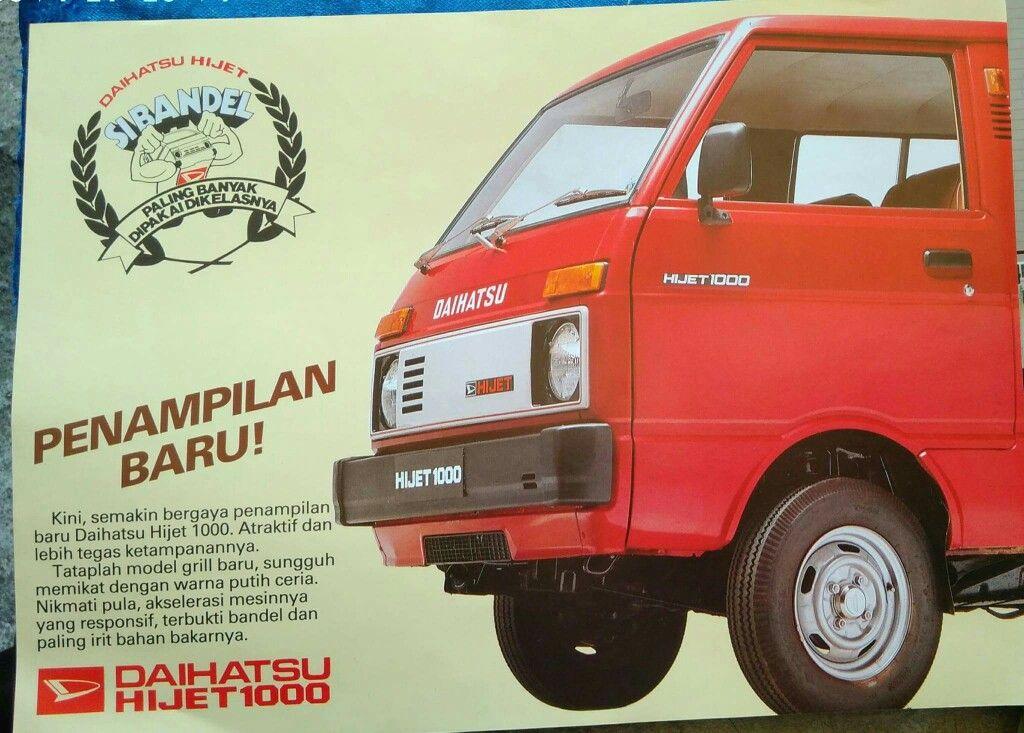 Daihatsu Hijet 1000 Broshure Mobilmotortruck Bus Pinterest