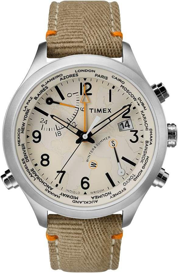 5b1d8bc3611d Men s Timex Waterbury Canvas Strap Watch