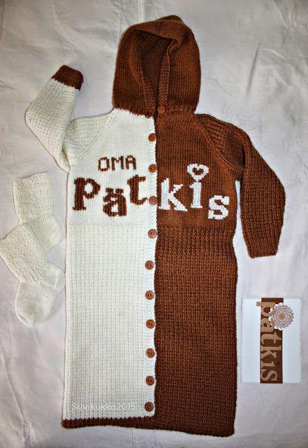 Suvikukkasia: Makoisaa ylle Knitting for baby