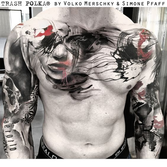 Photo of Tattoo Gallery – Trash Polka Tattoos por Volko Merschky y Simone Pfaff
