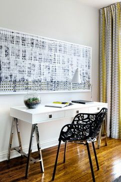Victorian Home transitional home office toronto Toronto