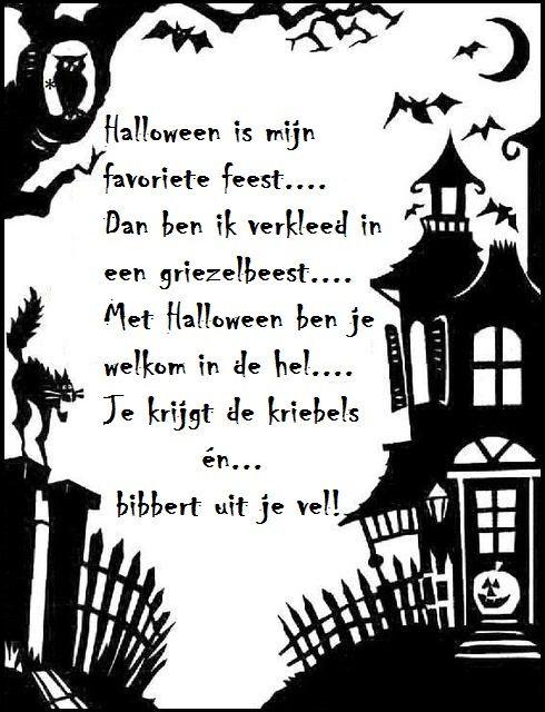 Halloween Filmpjes Nederlands.Versje Halloween Is Mijn Kynapuuhia Halloween