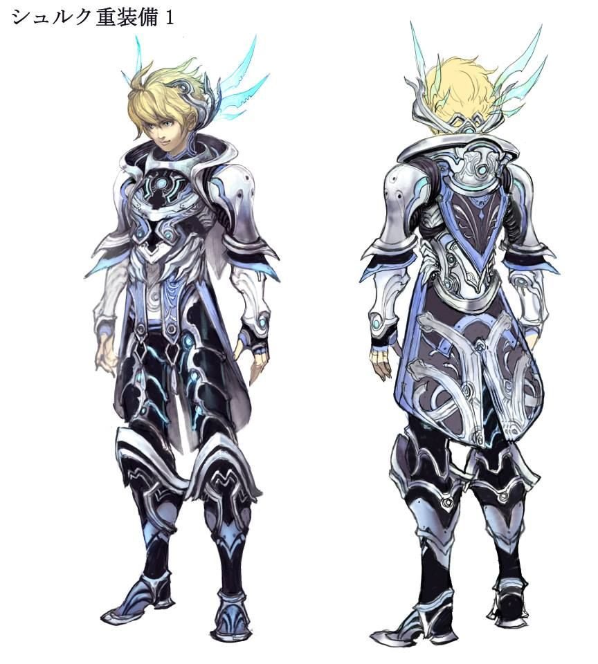 Shulk | Concept art 3d and Gaming