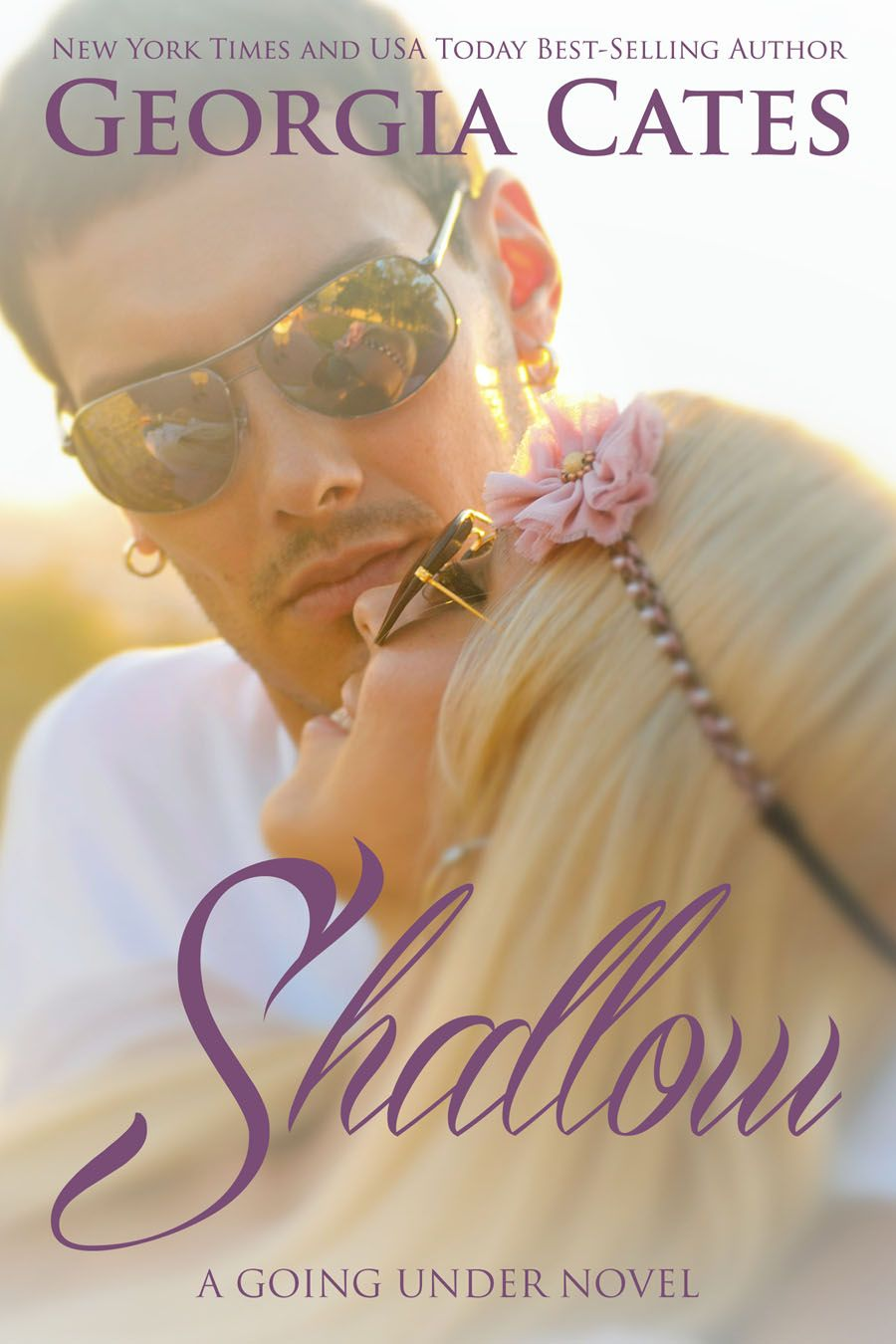 Happy Re-release Day to Going Under and Shallow by Georgia Cates! Jesse  Boone is a self-proclaimed bad boy and doesn't.