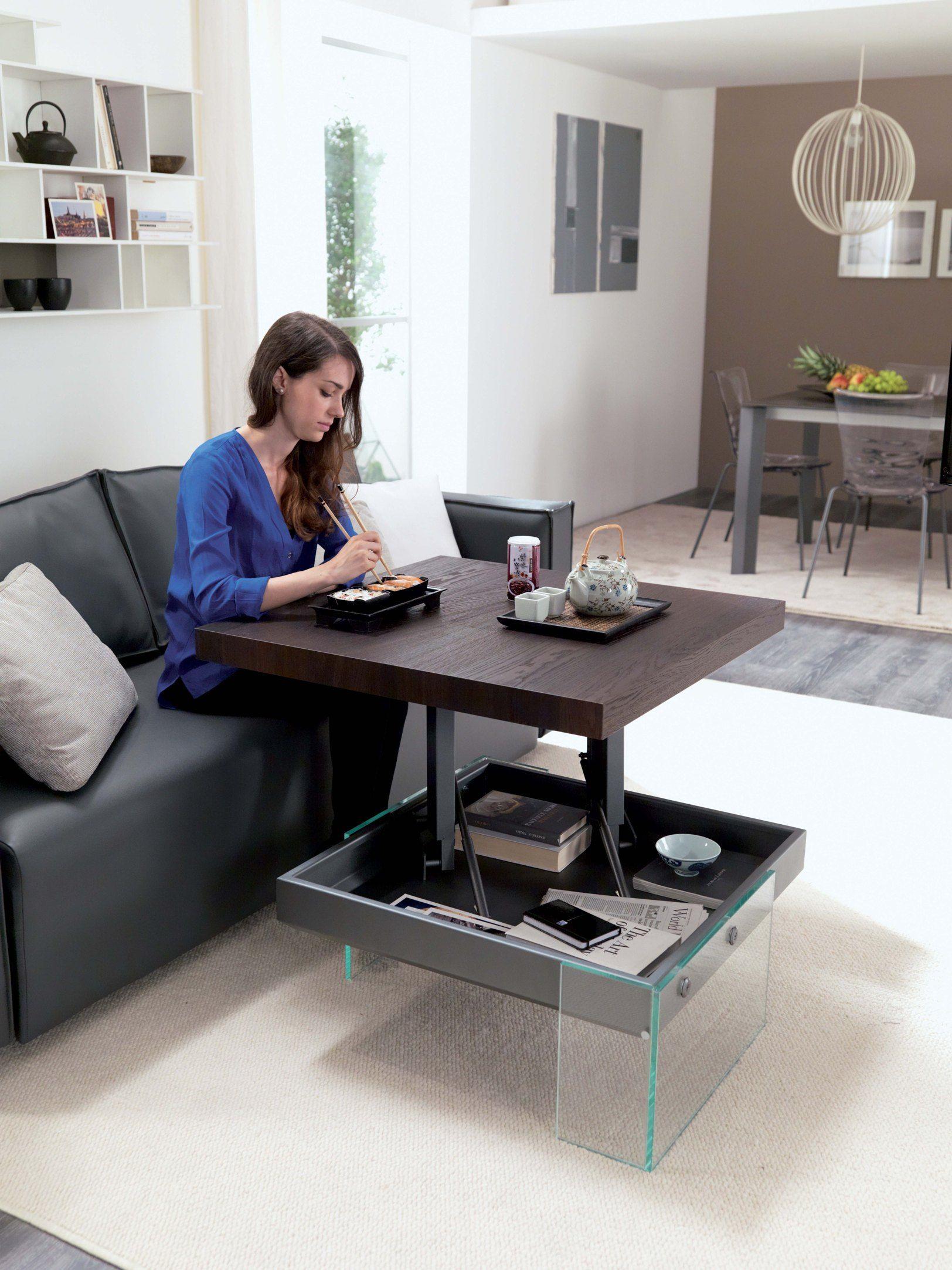 Tavolo Alzabile Salotto Pranzo.17 Idee Su Tavolini Da Salotto Alzabili Nel 2021 Tavolini Design Salotto