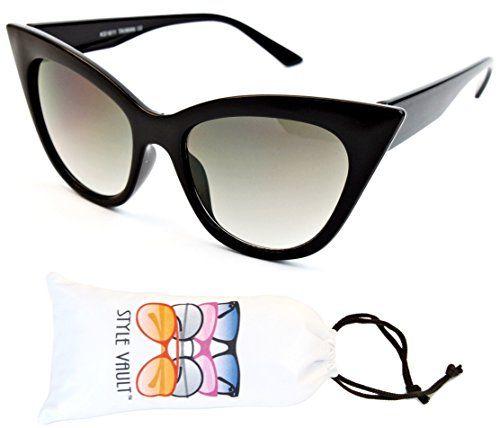 cecd48c25683f Vintage Fashion Wm3089-vp Style Vault Sharp Cateye Sunglasses  http   secretofdiva.