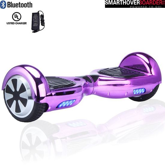 6 5 Pouces Hoverboard Classique Pourpre Hoverboard Girl