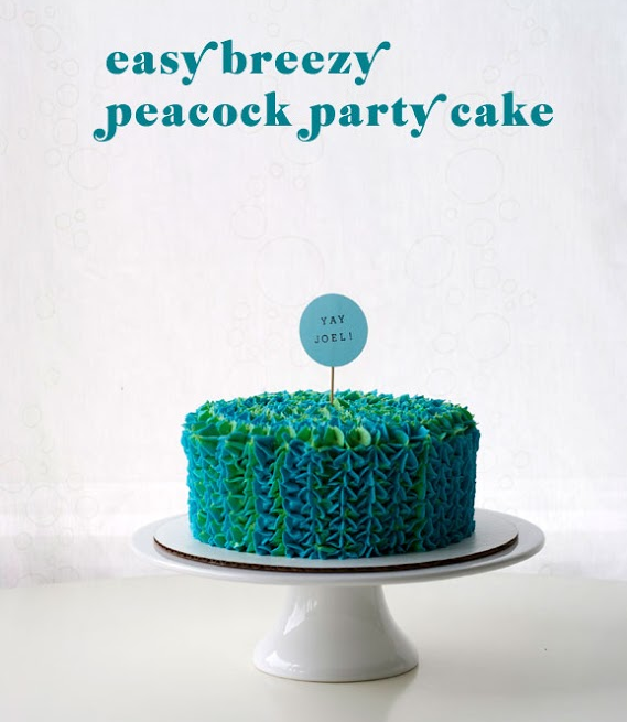 Peacock Cakes Ruffle My Feathers Peacocks Peacock cake and Cake