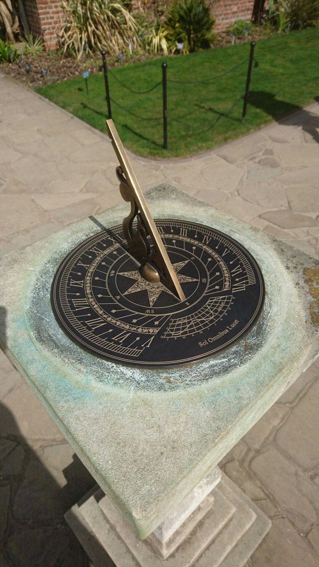 Wisley gardens, sundial | Sundial | Pinterest | Gardens, Clocks and