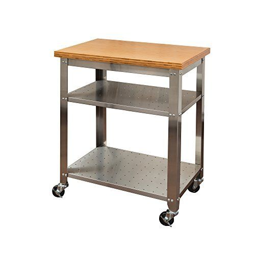 amazon kitchen cart simplehuman trash can com gridmann stainless steel commercial prep work table with backsplash 48 x 24 inches industrial scientific