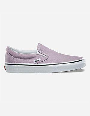 c8473324d5 VANS Classic Womens Slip-On Shoes Purple