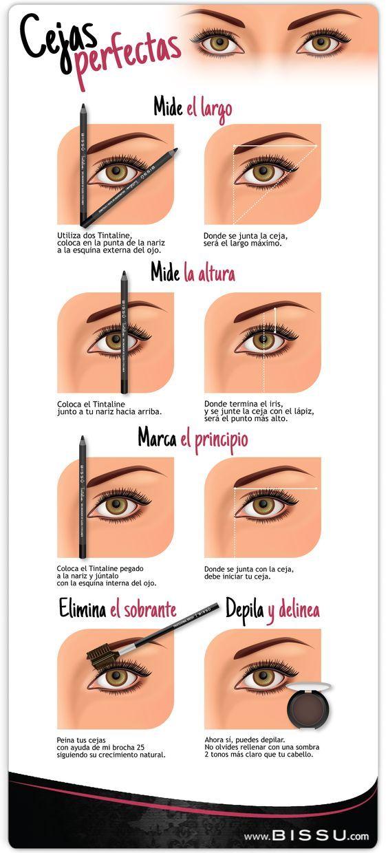 Consigue las cejas perfectas y enmarca tu rostro Cejas perfectas - tipos de cejas