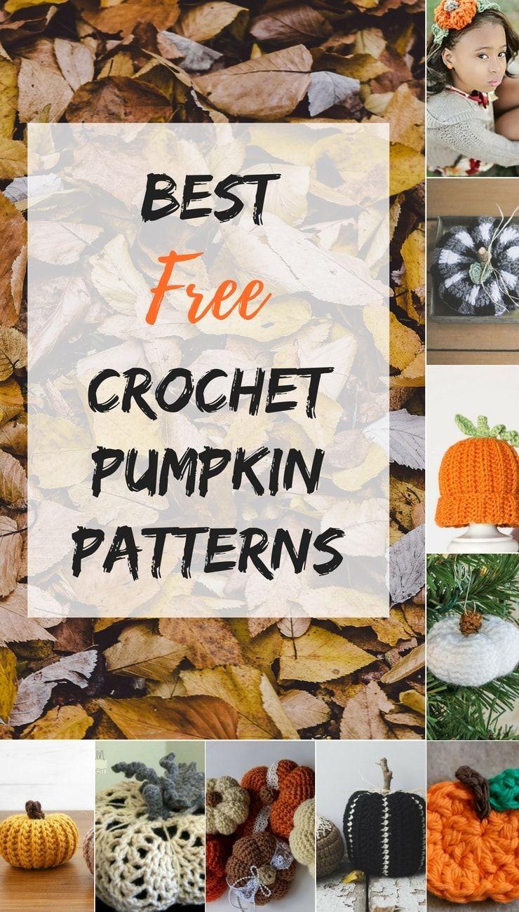 Only the best free crochet pumpkin patterns on the web | Pinterest