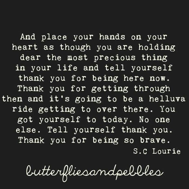 Place Your Hands On Your Heart...S.C. Lourie, Butterflies and Pebbles