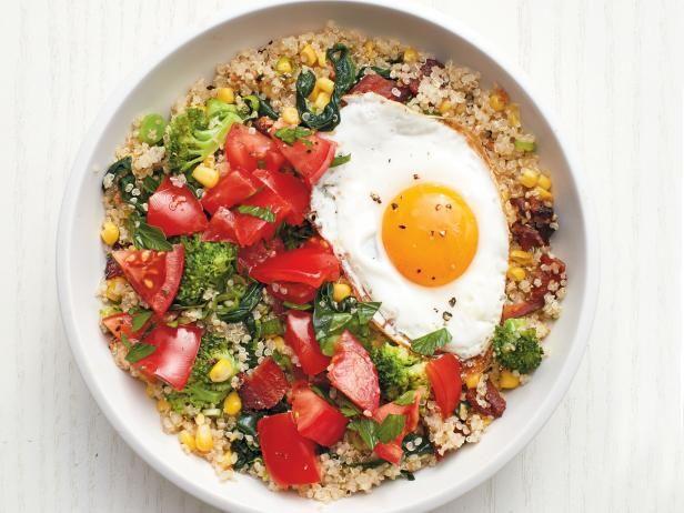Blt quinoa bowls receta comida forumfinder Image collections