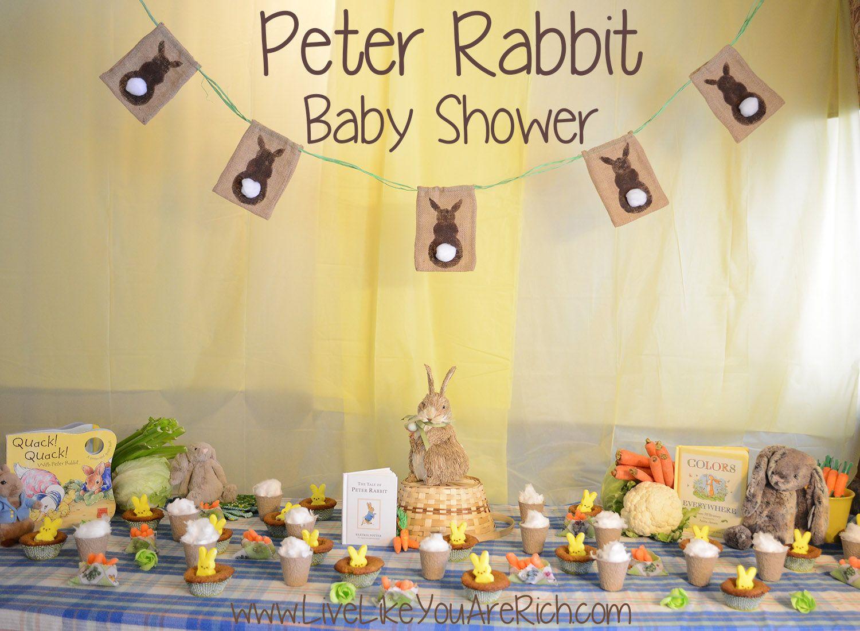 Burlap Easter Bunny Banner. Bunny Baby ShowersRabbit ...