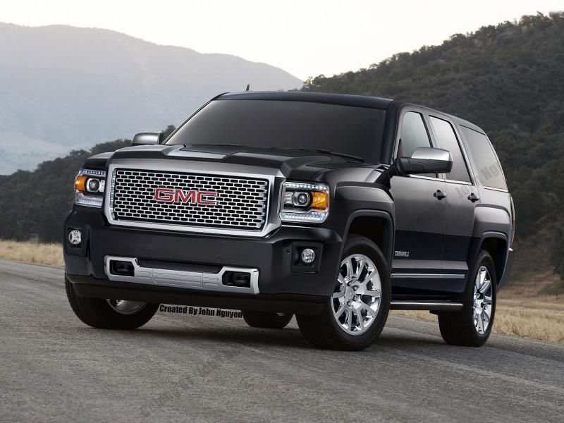 2015 Gmc Sierra Denali Front End On A 2015 Gmc Yukon Denali Body