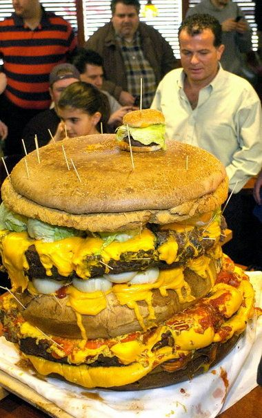 Man Vs Food Recipes Burger