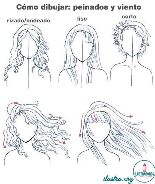 Sorprendentemente fácil peinados dibujos Imagen de tutoriales de color de pelo - Cómo dibujar peinados cuando el viento es un factor ...