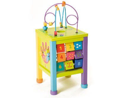 Picture Of (Boikido) Counting Station Wooden Toy For Children