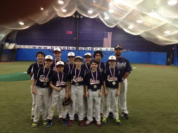 Pbi League Indoor Season 11 12u Division Runner Ups January 2015 Baseball League Club Baseball Seasons