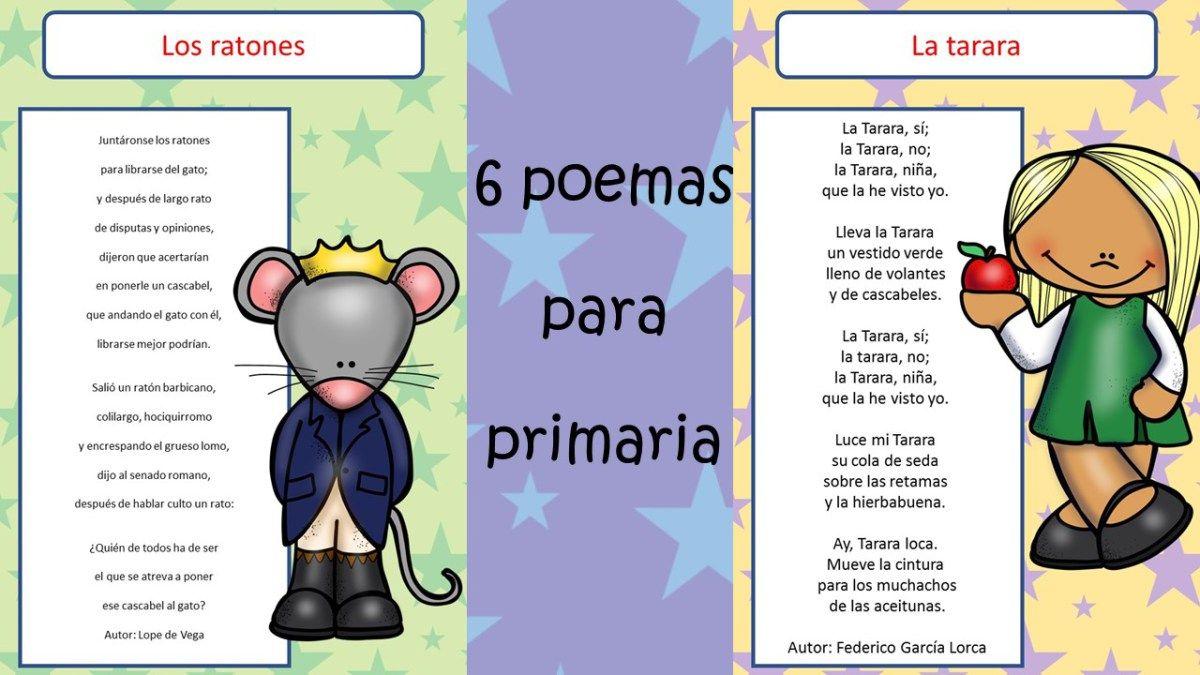 6 Poemas Divertidos Con Imagenes Para Trabajar En Primaria Poemas Divertidos Poesía Para Niños Poemas