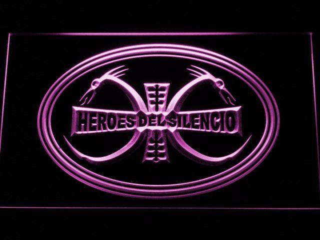 Heroes Del Silencio Dragons LED Neon Sign