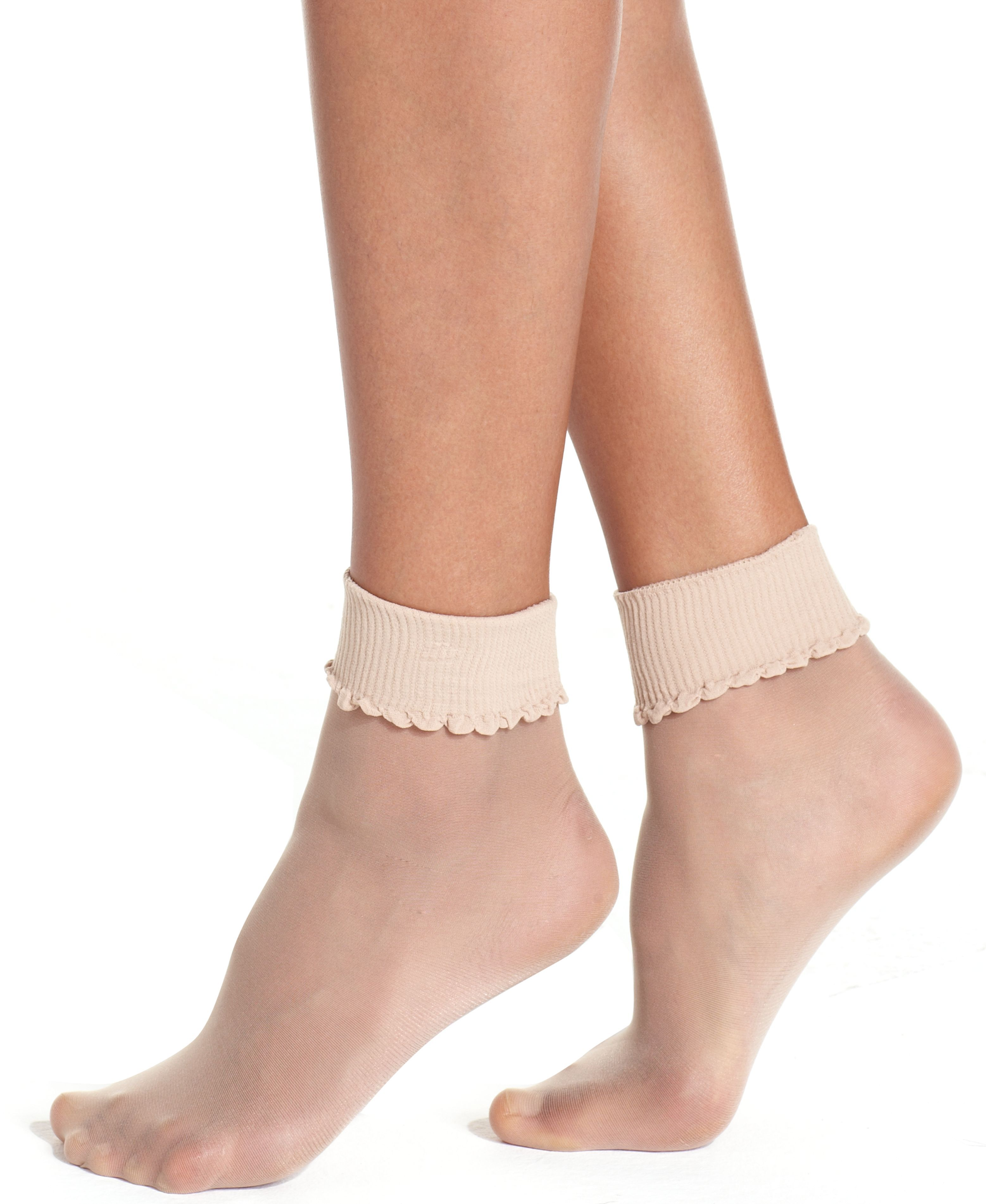 e6438ffa50b0c Berkshire Sheer Sheer Ankle Socks Hosiery 6753