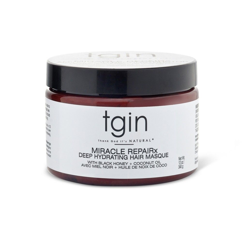 Tgin Miracle Repairx Deep Hydrating Hair Masque 12oz Hydrate