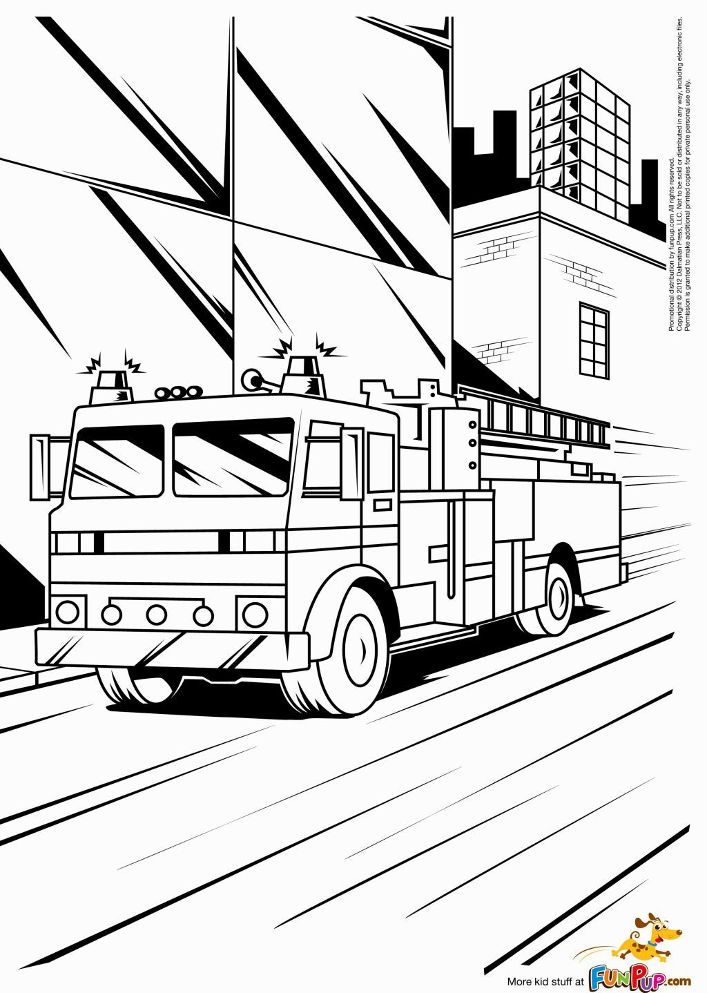 Coloring Fire Truck | Coloring Pages | Pinterest | Fire trucks