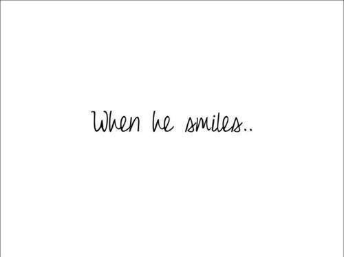 It Seeps Into My Heart To The Very Core His Smile Quotes Smile Quotes Quotes