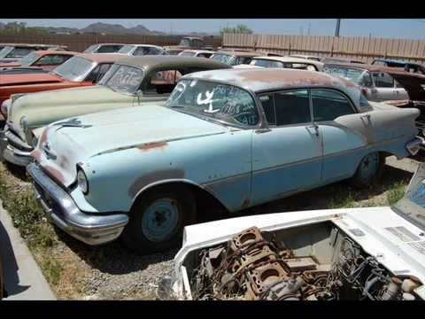 Private Old Car Junk Yard Youtube Death Valley Auto