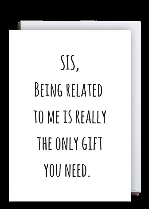 Pin By Sheri Barneko On Funny Sister Birthday Quotes Sister Birthday Card Funny Sister Birthday Card
