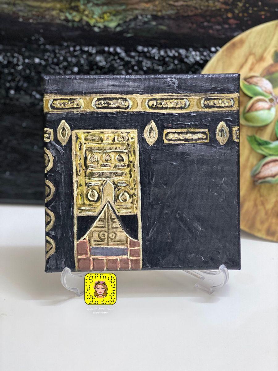رسم الكعبه تأثيري Cards Enamel Pins Decoupage