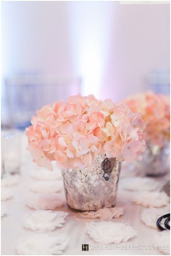 Pink hydrangea wedding centerpieces google search