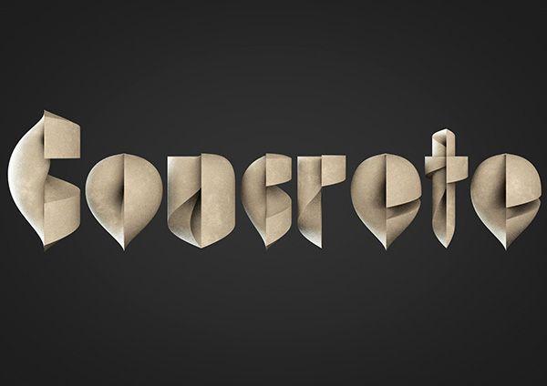 Lathe Typeface byAlexander Klement