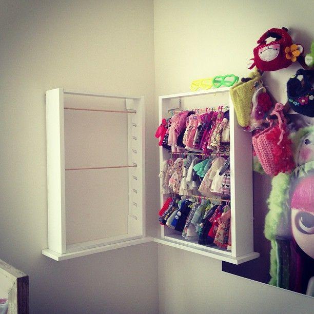 Superieur Doll Clothes Storage