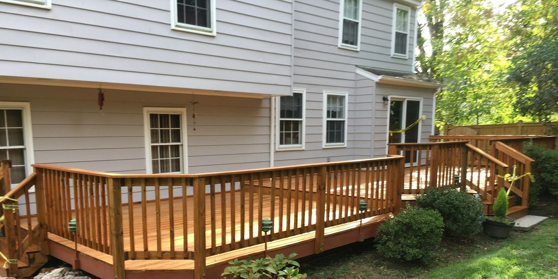 This looks like a really nice deck restoration job that I