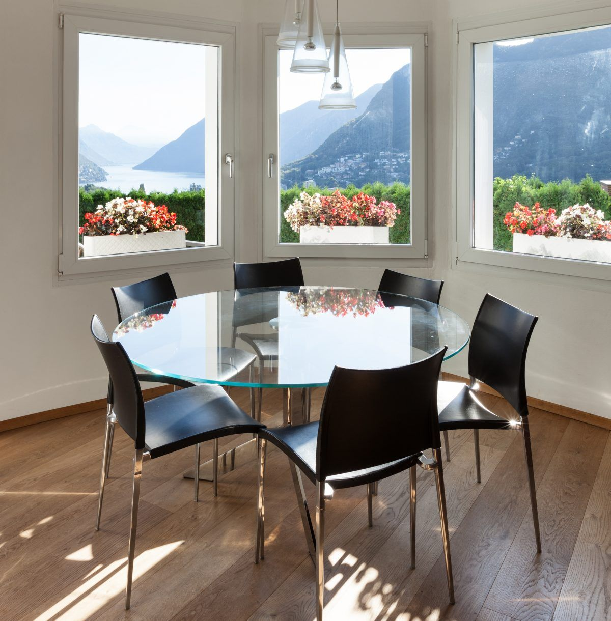 If you are looking for something that is easy to clean, then a glass dining table would be the ...